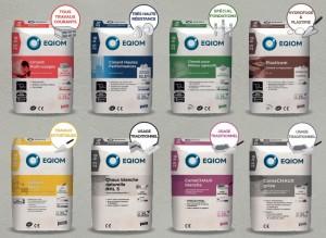 La gamme de ciments et chaux EQIOM Pro s'enrichit !