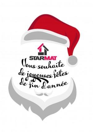 STARMAT vous souhaite de belles fêtes de fin d'années