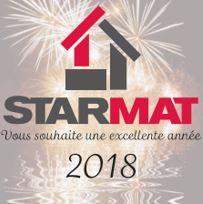 STARMAT vous souhaite une très bonne année 2018