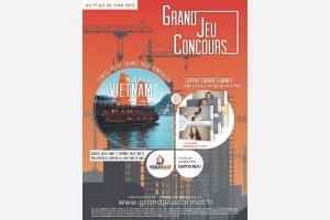 GRAND JEU CONCOURS - DU 1ER AU 30 JUIN 2018