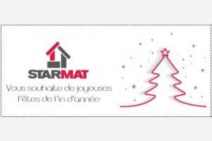 Starmat vous souhaite de très belles fêtes de fin d'année