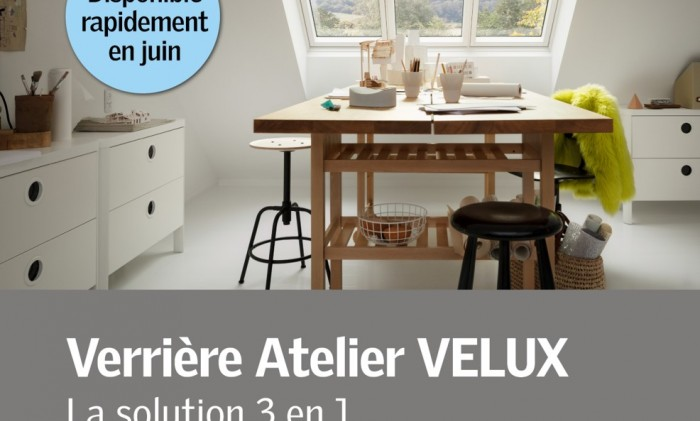 Découvrez la nouvelle verrière atelier VELUX.