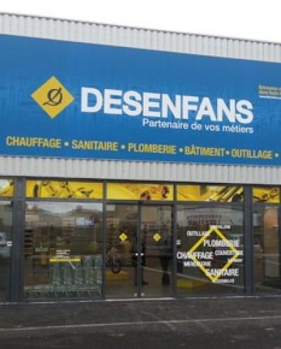 DESENFANS - Annezin, un point de vente Starmat