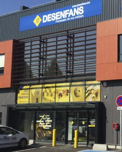 DESENFANS - Nanterre, un point de vente Starmat