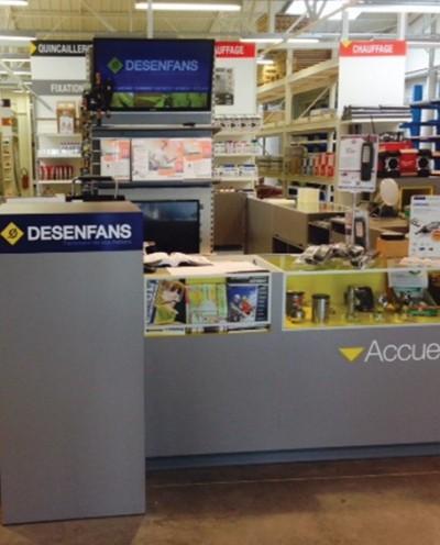 DESENFANS - Saint Quentin, un point de vente Starmat